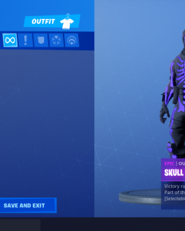 OG SKULL TROOPER /MAKO/ includes1020 vbucks