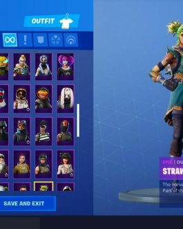 Fortnite account season 9 battlepass! (164 Skins) Season 2,3,4,5,6,7,8