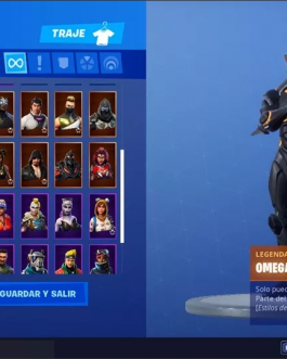 Omega Skin Fornite account for sale + more skins  (Very cheap)