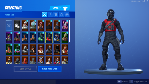 Fortnite Account OG Geforce Bundle