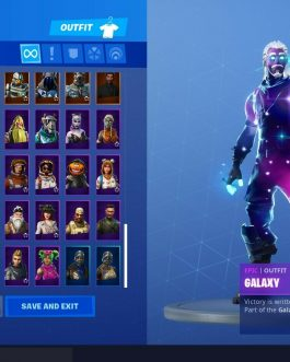 Fortnite Account With Galaxy  Black Knight  OG Skull Trooper