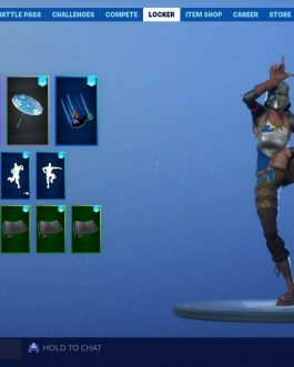 Royale Knight-season 1-9 80+ skins and 250+ emotes and sprays account overall level 439 with battle pass from every season