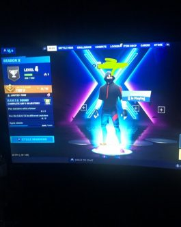Fortnite Account (Full access)-  OG Skull trooper skin – black night -ikonik FOR SALE!