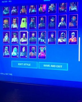 Stacked Fortnite Account For Sale With Save The World