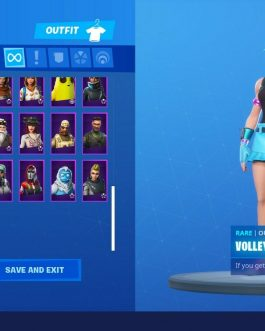 Fortnite Account – Season 1-9 + Deluxe Save the World