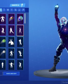 Fortnite Galaxy Skin Account + Ravage Legendary Skin – Early Season 4,5,6 Items.