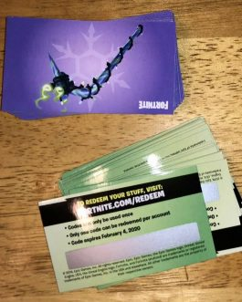 Merry Minty Mint Pick Axe Code Fortnite Pickaxe Card expires 02/04/2020
