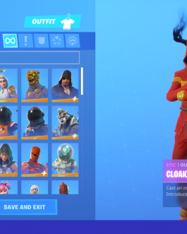 GALAXY STACKED, Ikonik, Wonder Fortnite Account 159+ Skins