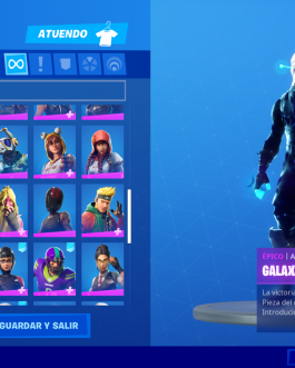 cheap fortnite account +80 skins including skin galaxy and ikonik