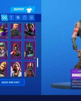 Fortnite Full Access Account 💥 130 skins 💥