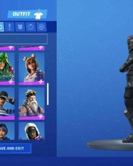 Fortnite Account Aerial Assault Trooper Renegade Raider Black Knight