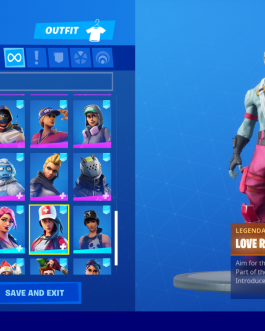 Fortnit account-SEASON 3 SKINS – JHON WICK, MINTY AXE, EVERY BATTLE PASS