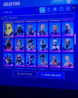 Fortnite Account Black Knight Full access Stacked