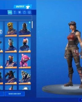 Season One FN Account Renegade Raider Revenge +  Many ⚡️Skins (Read Description)