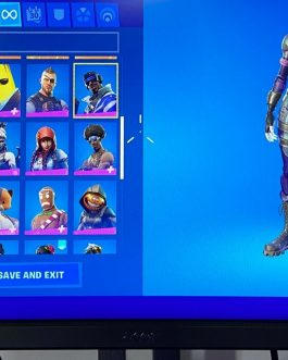 70 skinned season 4 account includes omega, dark bomber and more skins !