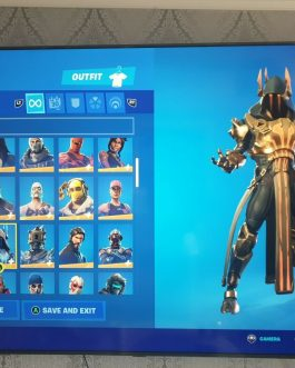 FORTNITE ACCOUNT FOR SALE : OG SEASON 1 STACKED