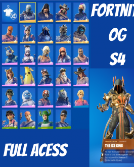 FORTNlTE Account S1 OG 33 Skins LEGENDARY 9 – 39 Backs 9xPets!