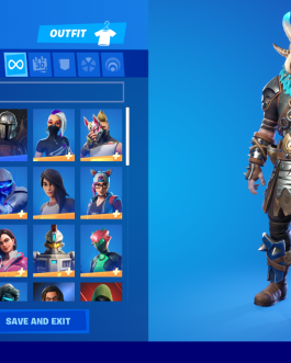 NEW FORTNlTE Acc 80 Skins Rare Items PS4 & 5/PC/Nintendo Switch Compatible