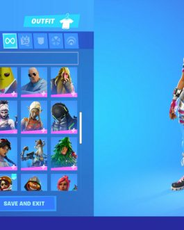 Stacked OG FN Account  93 skin  Galaxy  Glow  ACDC  Sparkle Specialist GTA