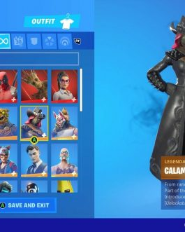 Stacked Fortnite Account for sale with 62 Skins