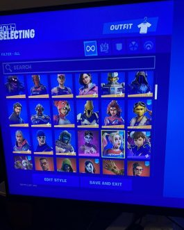 Stacked Fornite Account for sale